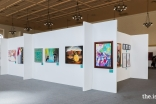 Finalists from all seven regions of the US displayed their work in the art gallery at the Jubilee Arts Festival.