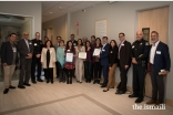 Leadership with Milpitas Police Chief Armando Corpuz and Assistant Police Chief Kevin Moscuzza.