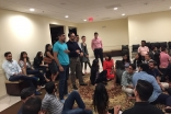 Students and young adults get to know one another at the Washington, D.C. Welcome Night.