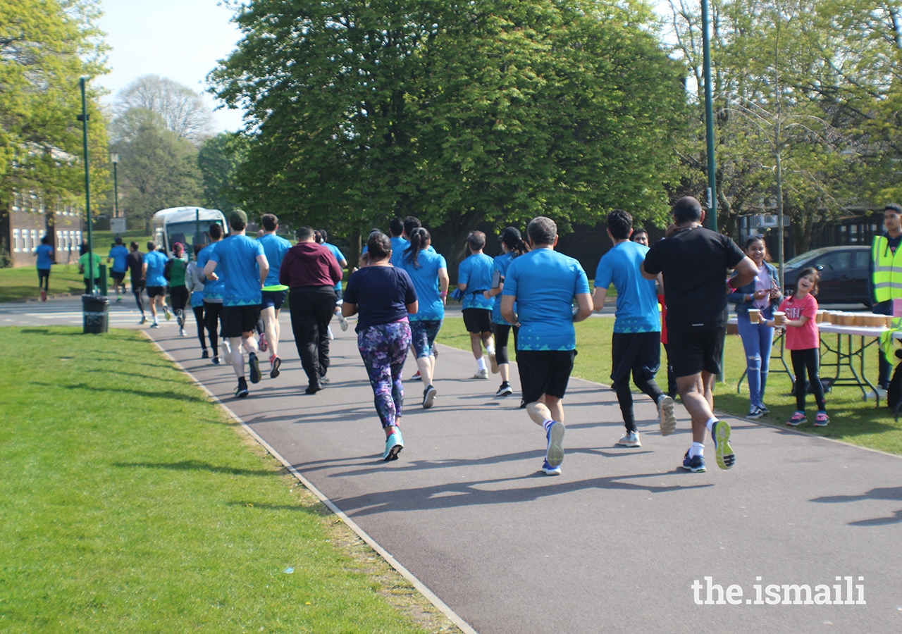 The Aga Khan Foundation 10k Run took place on Friday 19 April 2019 at the European Sports Festival, held at the University of Nottingham.
