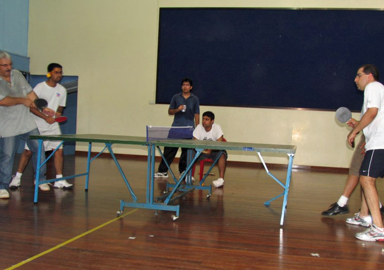 Competitions included the women's and men's singles, doubles and a mixed doubles events for both badminton and table tennis.