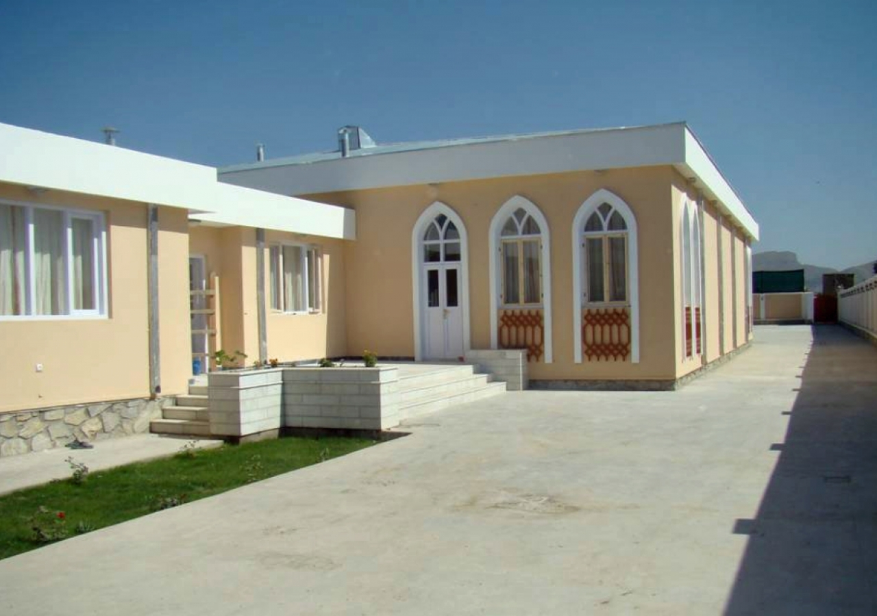 Wazirabad Jamatkhana in Kabul.