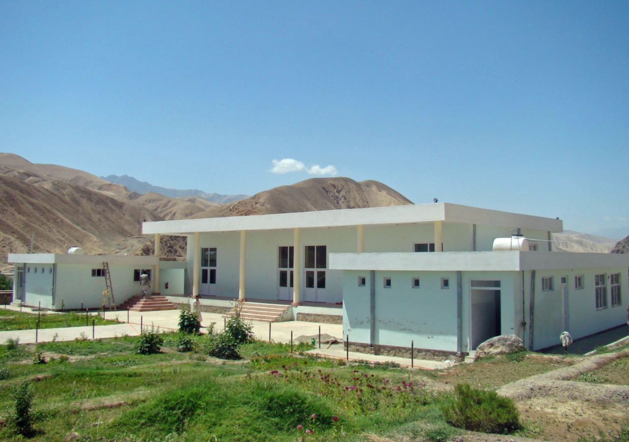 Daragak Jamatkhana in Doshi, Baghlan.
