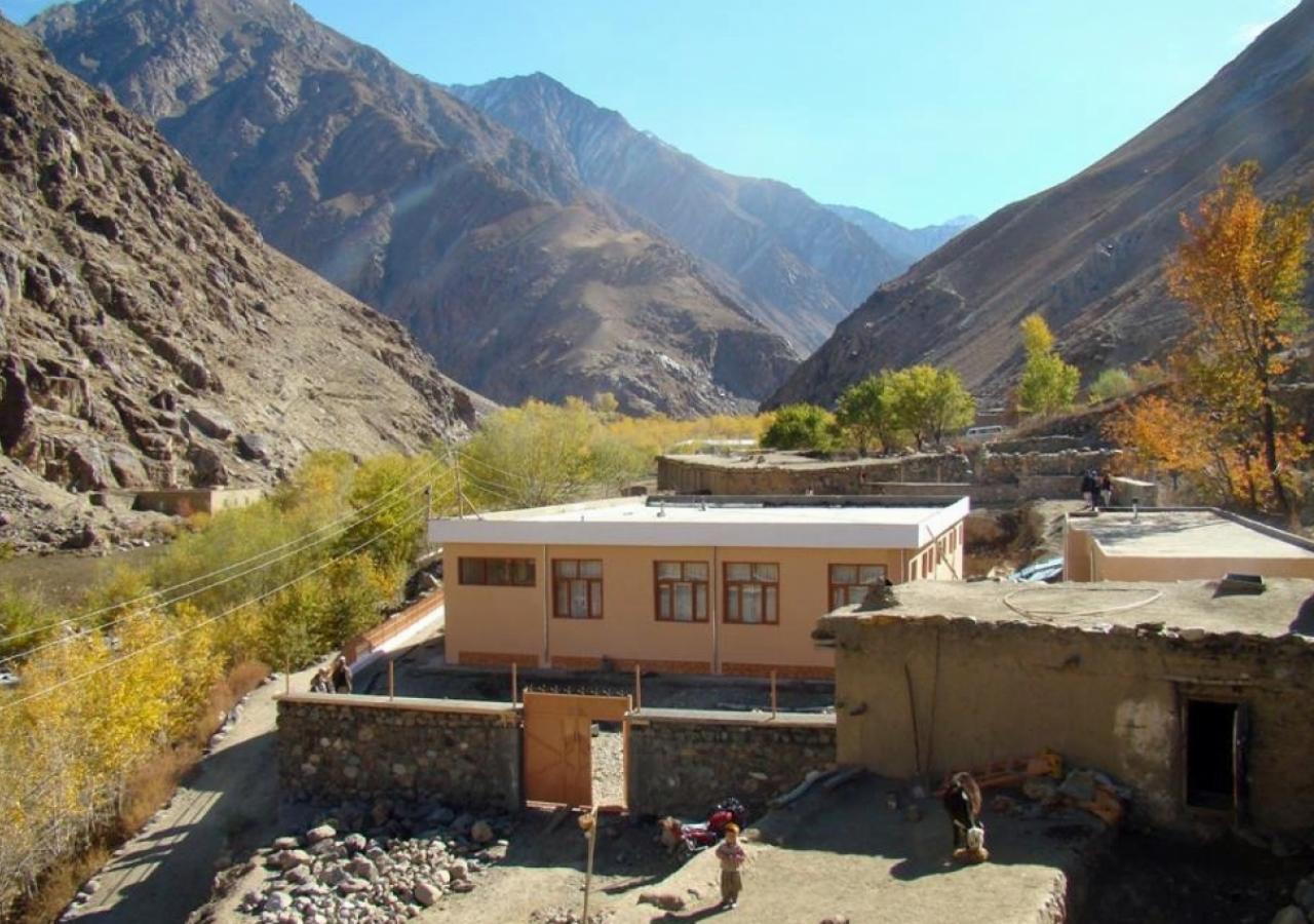 Kalacha Jamatkhana in the Warsaj district of  Takhar Province, Afghanistan.