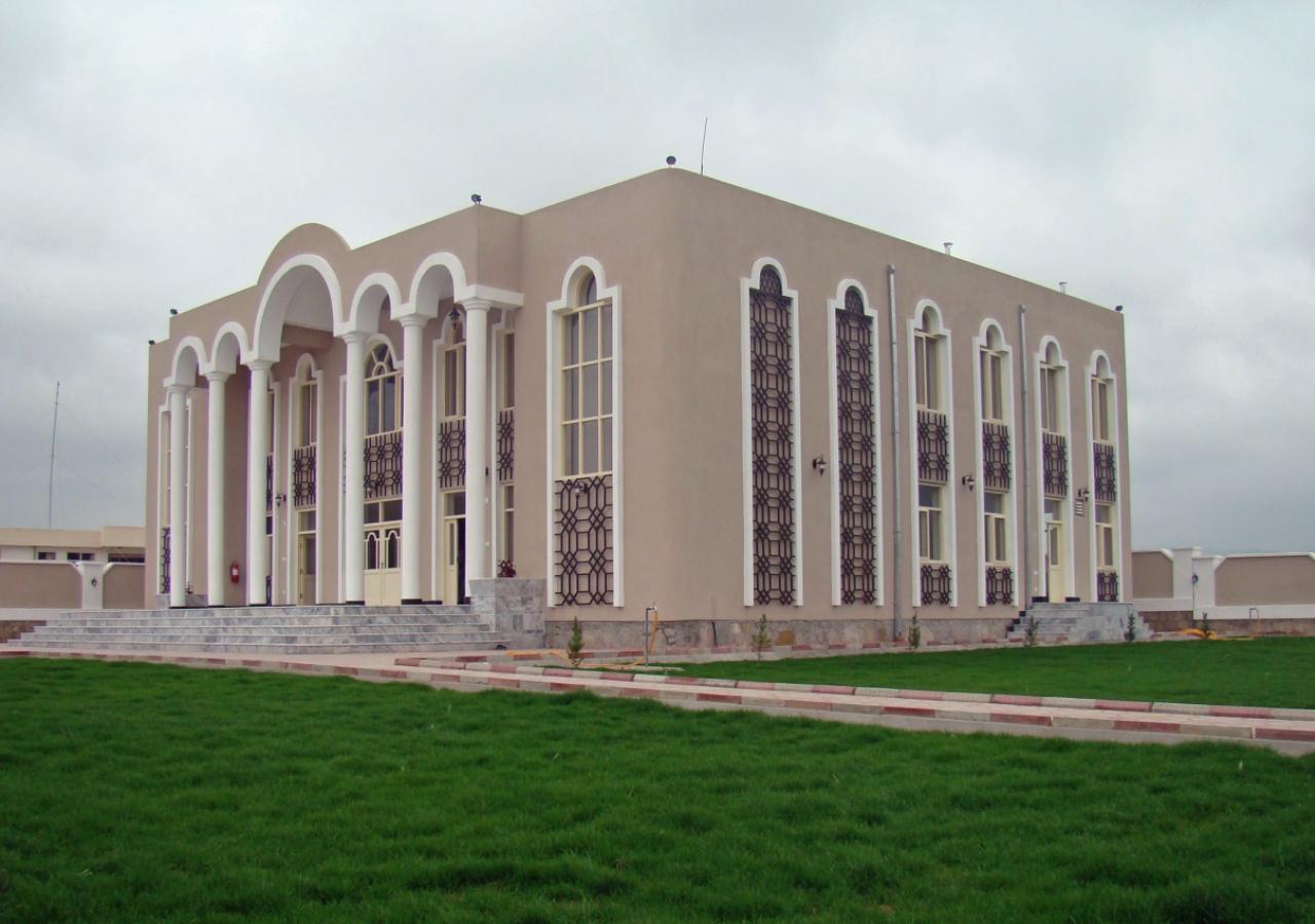 Qarya-i-Bekh Jamatkhana in Dahna-e-Ghori, Baghlan Province.