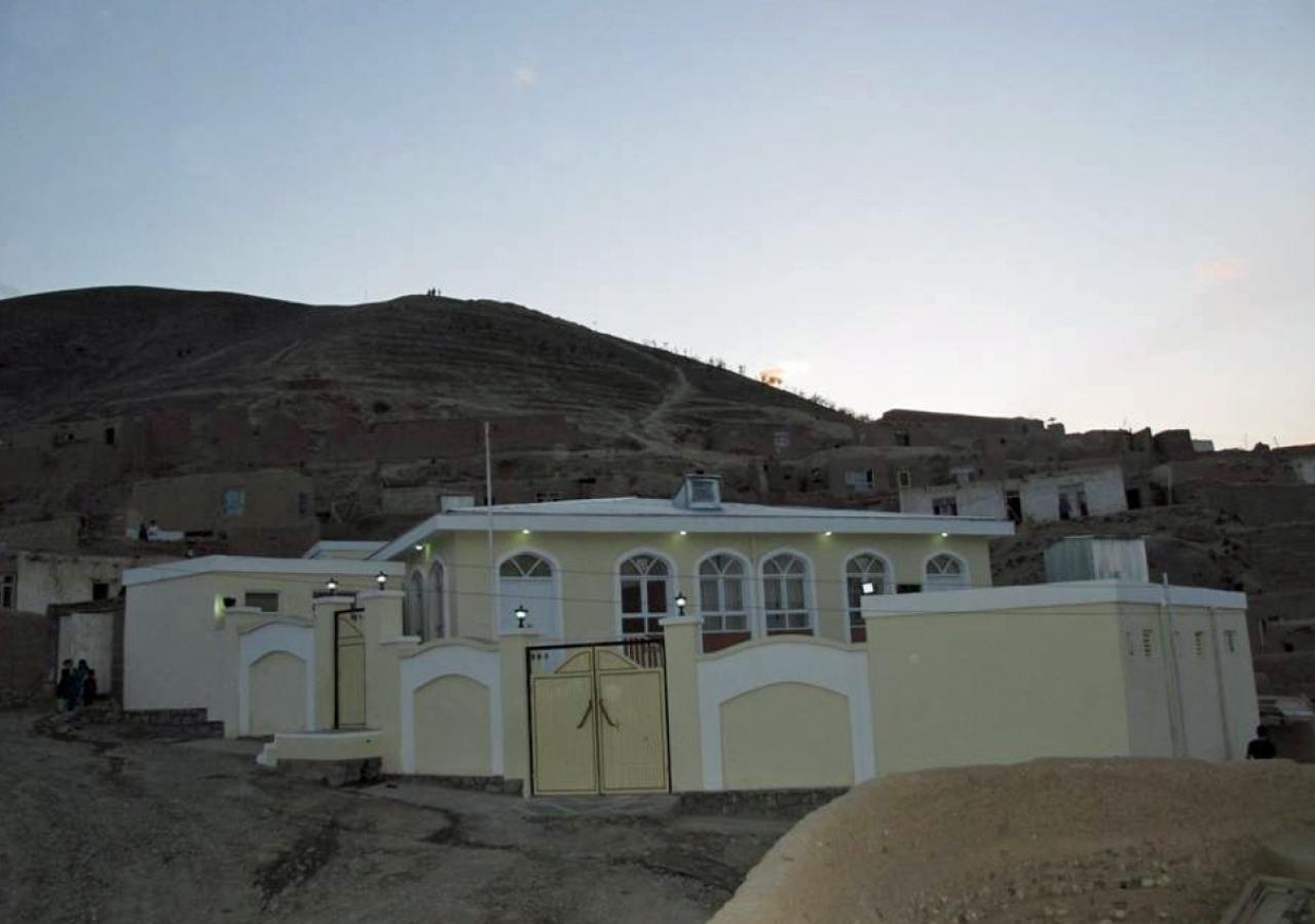 Tapa-i-Farhat Jamatkhana in Puli Khumry, Baghlan.