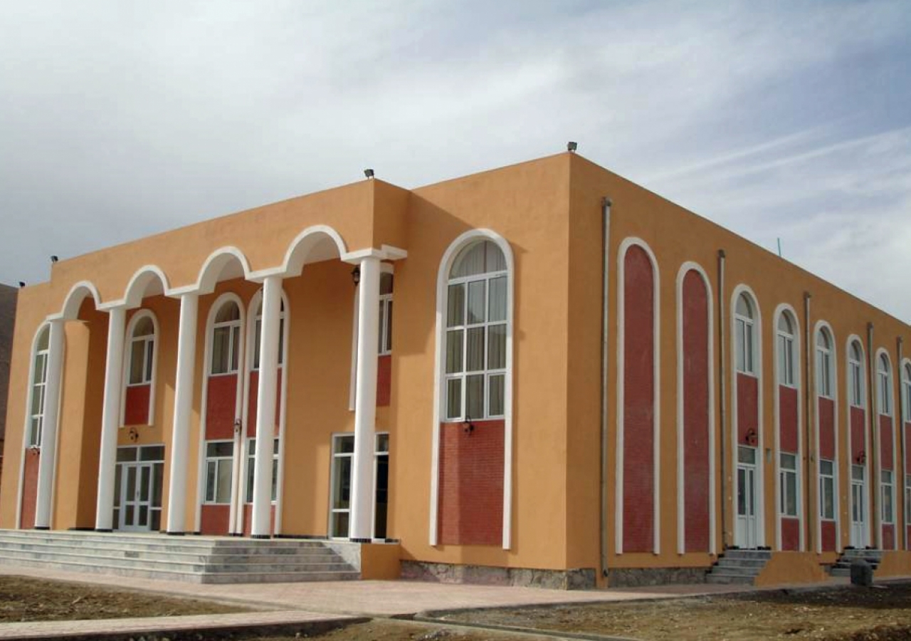 Zargha Jamatkhana in Baghlan, Afghanistan.