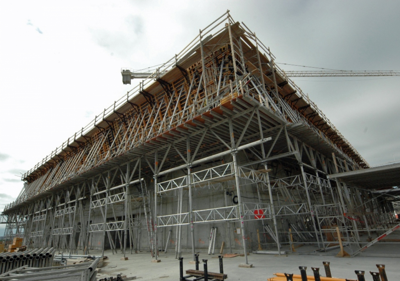 May 2011: The Aga Khan Museum, Toronto under construction.