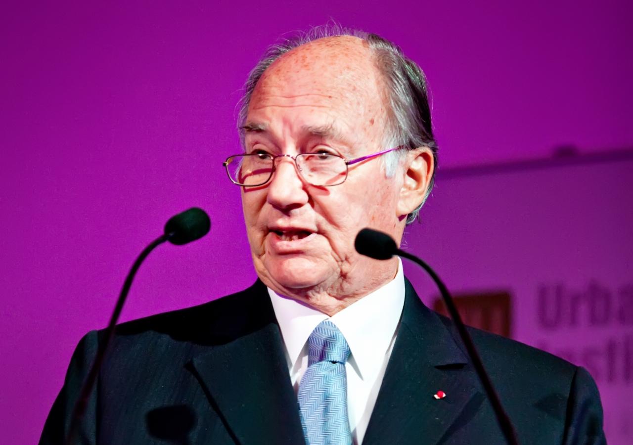 Mawlana Hazar Imam addressing the Urban Land Institute in Paris.
