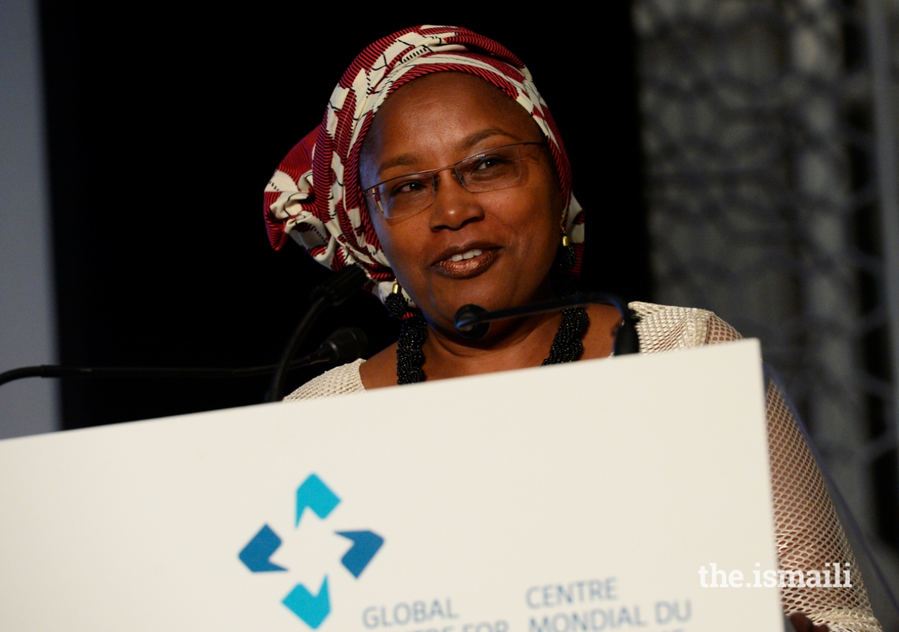 Alice Nderitu shares some remarks upon receiving the 2017 Global Pluralism Award.
