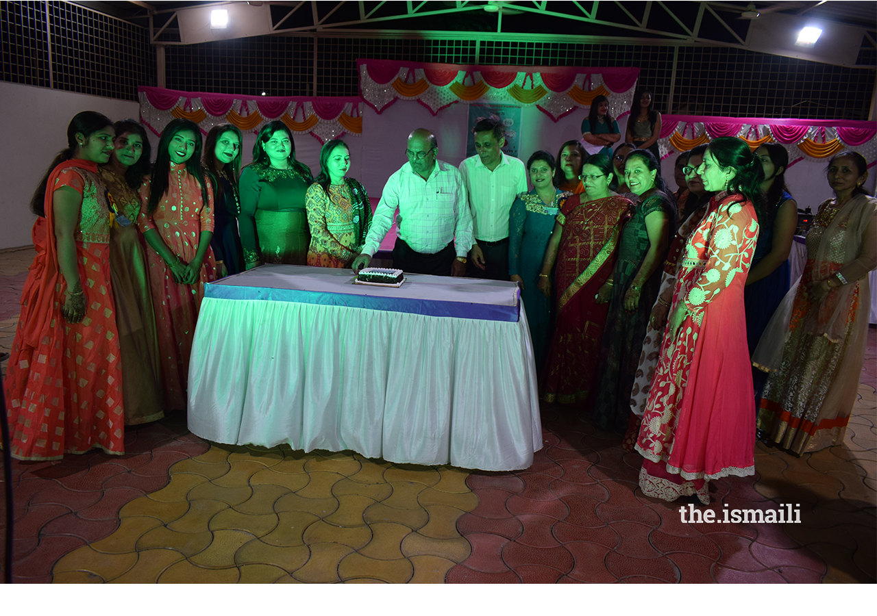 Cake Cutting ceremony to Celebrate Success of Women's Wellness Club