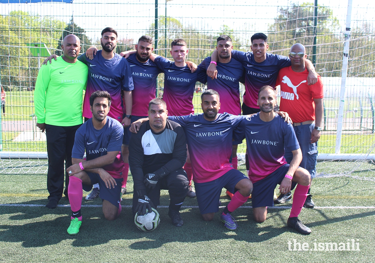 Finalists of the Football competition at the European Sports Festival 2019, held at the University of Nottingham.