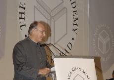 Mawlana Hazar Imam speaking at the Foundation Stone-Laying Ceremony of the Aga Khan Academy. (Hyderabad, 2006) AKDN / Gary Otte