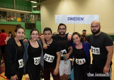 Participants from Sweden competed in the Dodgeball competition at the European Sports Festival 2019.