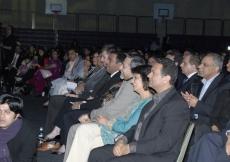 Audience enjoys the NSF 2010 awards ceremony.