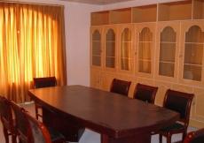 A meeting room at Chamandi Jamatkhana.