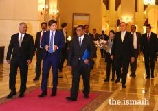 Prince Aly Muhammad arrives at Islamabad Serena Hotel