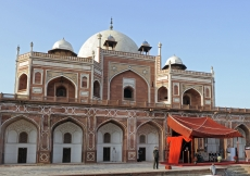 The restoration of Humayun's Tomb, the resting place of the second Mughal emperor and a precursor to the Taj Mahal, was inaugurated on 18 September 2013.