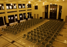 The Social Hall is as a multi-purpose space with capacity to host gatherings of some 200 people.