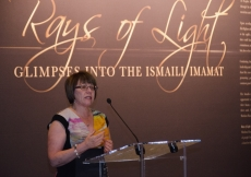 Former Deputy Prime Minister of Canada, the Honourable  Anne McLellan, was among the distinguished guests who viewed RAYS OF LIGHT as it criss-crossed the country.