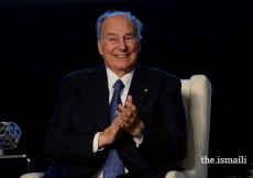 Mawlana Hazar Imam presented the inaugural Global Pluralism Award at the Delegation of the Ismaili Imamat in Ottawa on 15 November 2017. The Award celebrates achievement and excellence in the field of pluralism.
