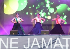 Members of the Portugal Jamat opened the show with a stunning dance number.
