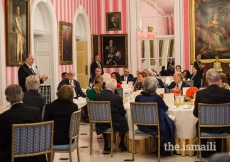 Mawlana Hazar Imam speaking at Rideau Hall where he was hosted by her Excellency the Right Honourable Julie Payette, Governor General of Canada, on the occasion of his Diamond Jubilee.