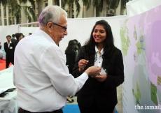 Ex-National President Mr Hasan Ali Firasta exploring the interactive Map