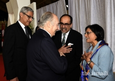 Ismaili Council for Ontario President Sheherazade Hirji bids farewell to Mawlana Hazar Imam on his departure from Ottawa.