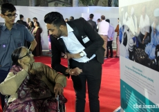 Senior Citizens visiting the exhibition