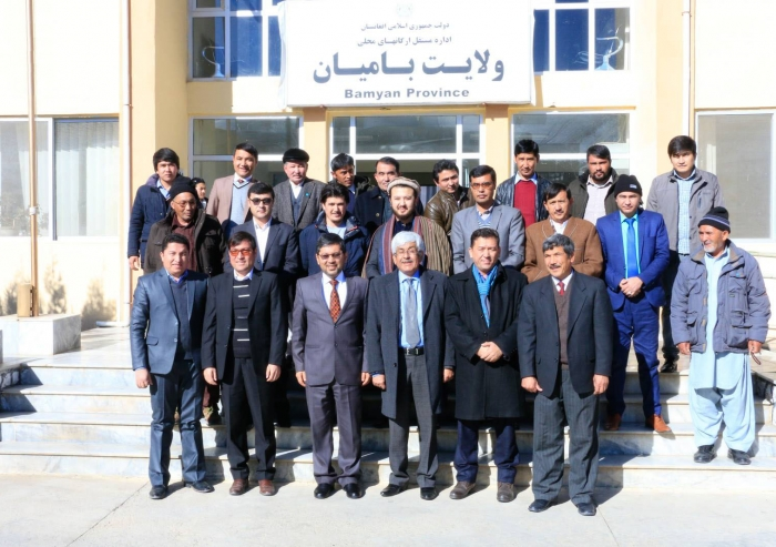 A delegation from the Ismaili Council for Afghanistan travelled to Bamyan to celebrate Salgirah in December 2018