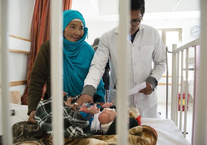 The state-of-the-art 141-bed facility places particular emphasis on the needs of women and children, and represents a new chapter for the Bamyan Provincial Hospital. AKDN / Kiana Hayeri