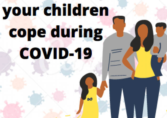 How to help children cope during COVID-19