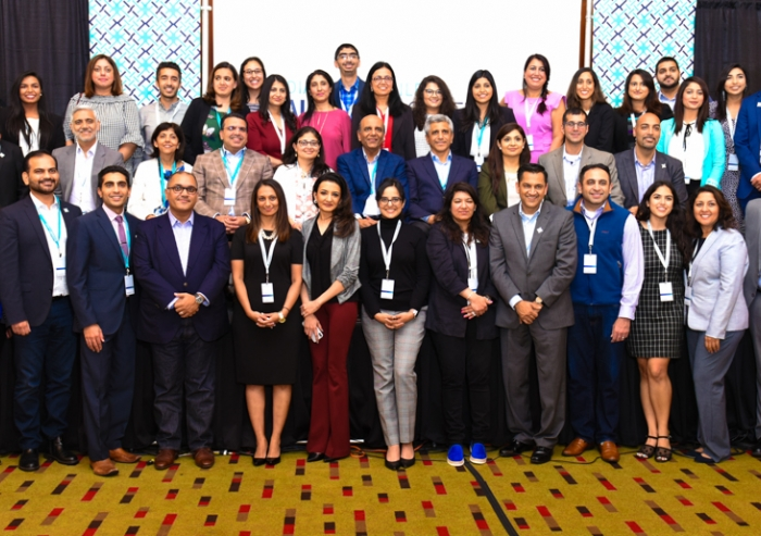 The DJAC was an event organized by the Council for USA and the Ismaili Professionals Network (IPN). The organizing and leadership team pose for a picture.