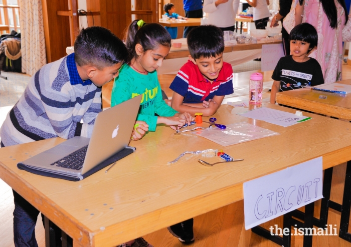 AKEB's STEM agenda enables young members of the Jamat to experience, discover, and be inspired to adapt to shifting trends in the world; today, and in years to come.