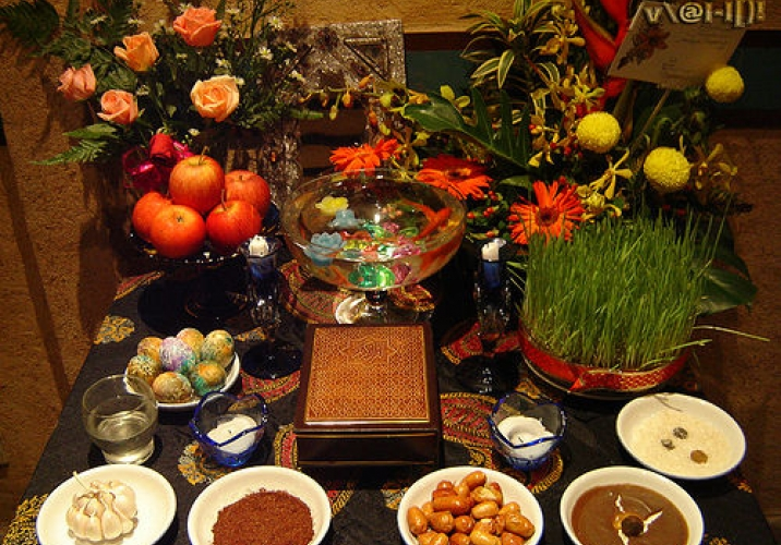 Festive spread for Navroz