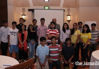Youth attend Skills Incubator at the Ismaili Centre Dubai