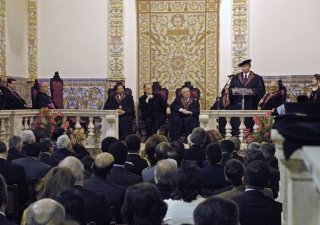 Ceremony bestowing the Honoris Causa Degree to Mawlana Hazar Imam