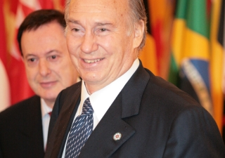 Mawlana Hazar Imam at the Afghanistan Conference in Paris.
