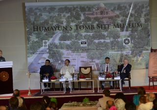 "The new museum will be ""at the juncture of three historically connected sites, Humayun's Tomb and its Gardens, Hazrat Nizamuddin Basti, and the Sundar Nursery,"" said Mawlana Hazar Imam."