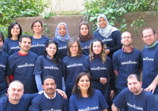 Fifteen trainers from Egypt and Syria learnt how to conduct high impact training in Damascus.