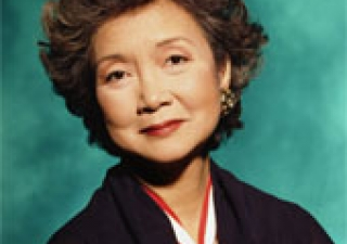 The Right Honourable Adrienne Clarkson, 26th Governor General of Canada.