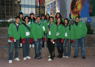 Ismaili youth were enthusiastic to volunteer as Olympic Ambassadors and welcome the world to Vancouver for the 2010 Winter Games.