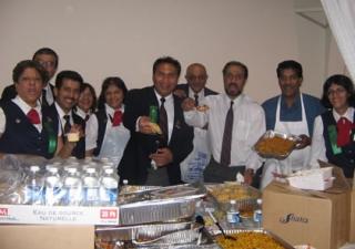 Food preparation volunteers in Toronto gear up for the Golden Jubilee celebrations
