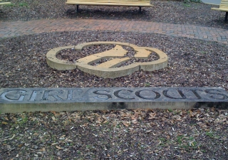 A tribute to the Girl Scouts in Savanah, GA, where Girl Scouts USA founder Juliette Gordon Low was from.