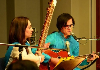 """In """"The Harmony Project"""", musicians perform a medley of spiritual music combining the instruments as diverse as the sitar and the electro-acoustic guitar."""