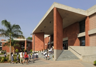The purpose-built campus of the Aga Khan Academy, Hyderabad was designed by award-winning Bimal Patel of HCP in Ahmedabad.