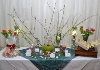A Navroz haft sin table provided an opportunity to learn about the tradition and its significance.