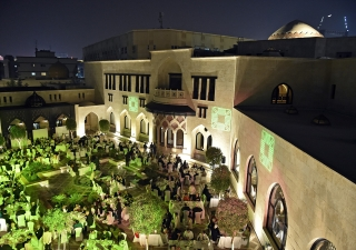 Mawlana Hazar Imam hosted a dinner and concert at the Ismaili Centre, Dubai for the international attendees of the Aga Khan Award for Architecture. Gary Otte