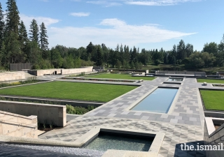 The Aga Khan Garden, Alberta is a space for connection, enjoyment, contemplation, and education.